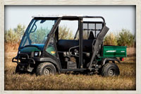 Utility vehicle offered as an amenity to hunters